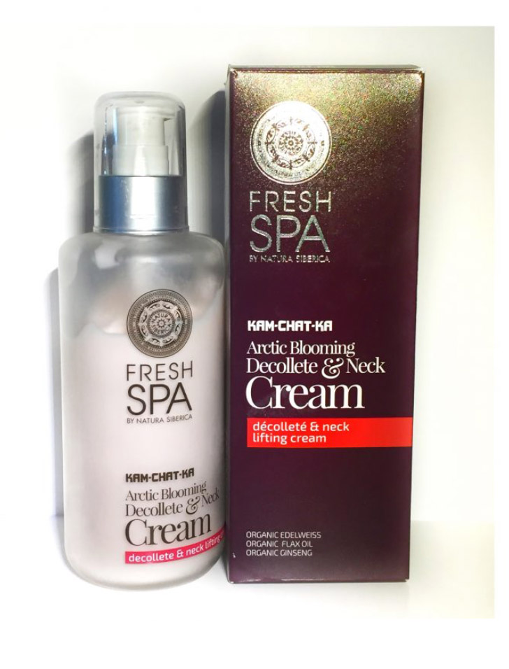 NATURA SIBERICA CREMA DECOLLETE E COLLO ARCTIC BLOOMING