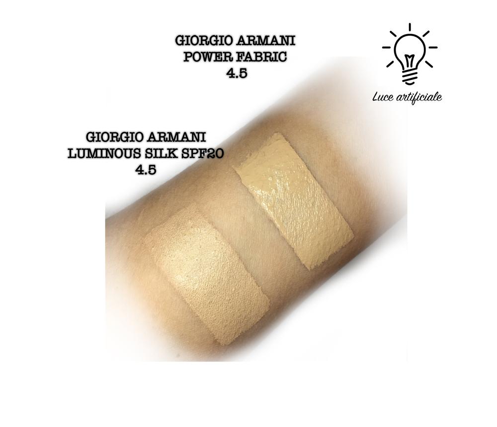 Giorgio Armani Lasting Silk swatch natural